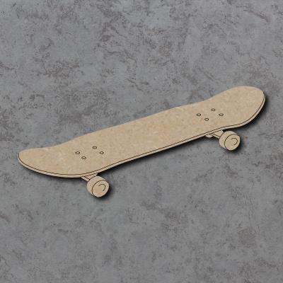 Skateboard Craft Shapes