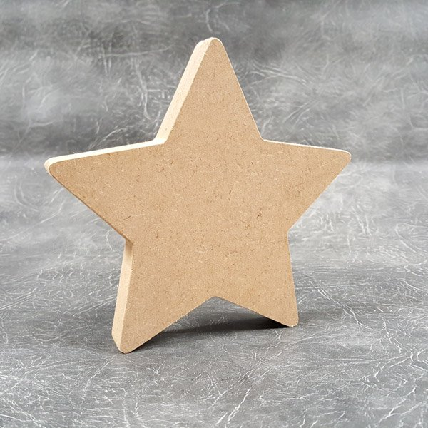 Free standing Star Craft Shapes