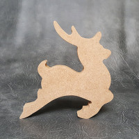 Reindeer Craft Shapes 18mm Thick