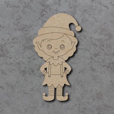 Elf Girl Craft Shapes