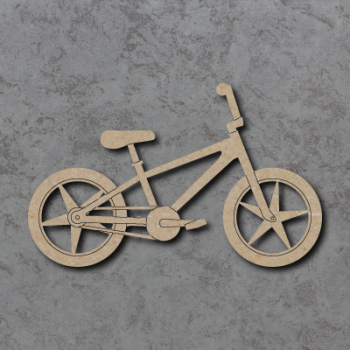 BMX Bicycle Craft Shapes