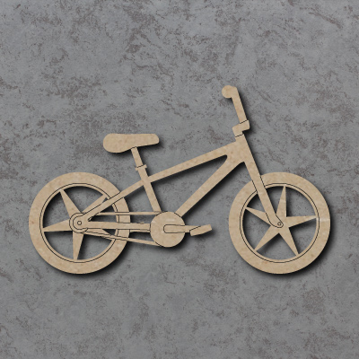 BMX Bicycle Craft Shapes