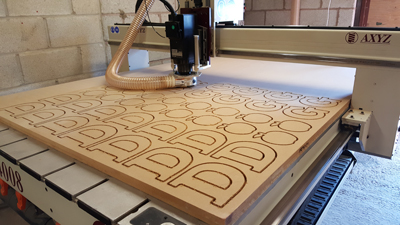 CNC Cut Wooden Shapes Bulk Order