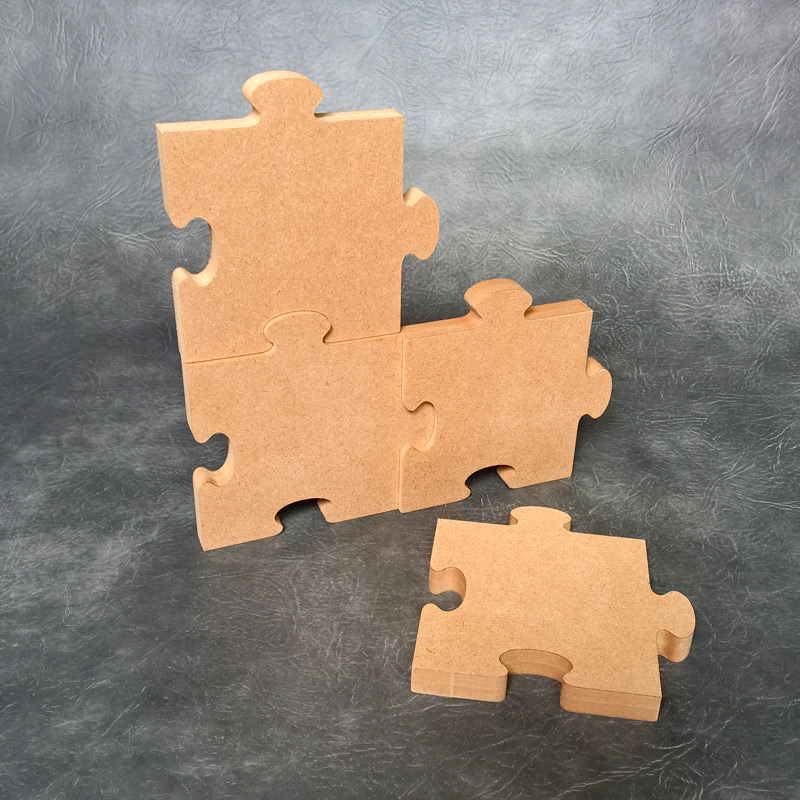 Freestanding Jigsaw Pieces 18mm Thick
