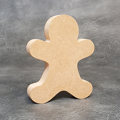 Gingerbread Man 18mm Thick Craft Shapes