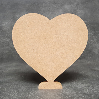 Heart Standing 18mm Thick