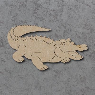 Crocodile Craft Shapes