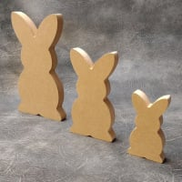Bunny Craft Shapes 18mm Thick