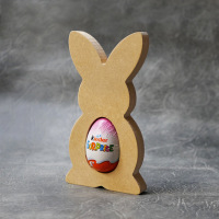 Bunny Kinder Egg Holder 18mm Thick