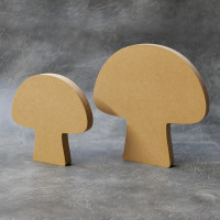 Toadstool Craft Shapes 18mm Thick