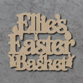 Personalised Easter Basket / Box Sign