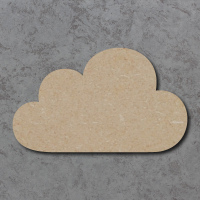 Cloud 03 Blank Craft Shapes