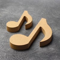 Music Notes (Single) Craft Shapes 18mm Thick
