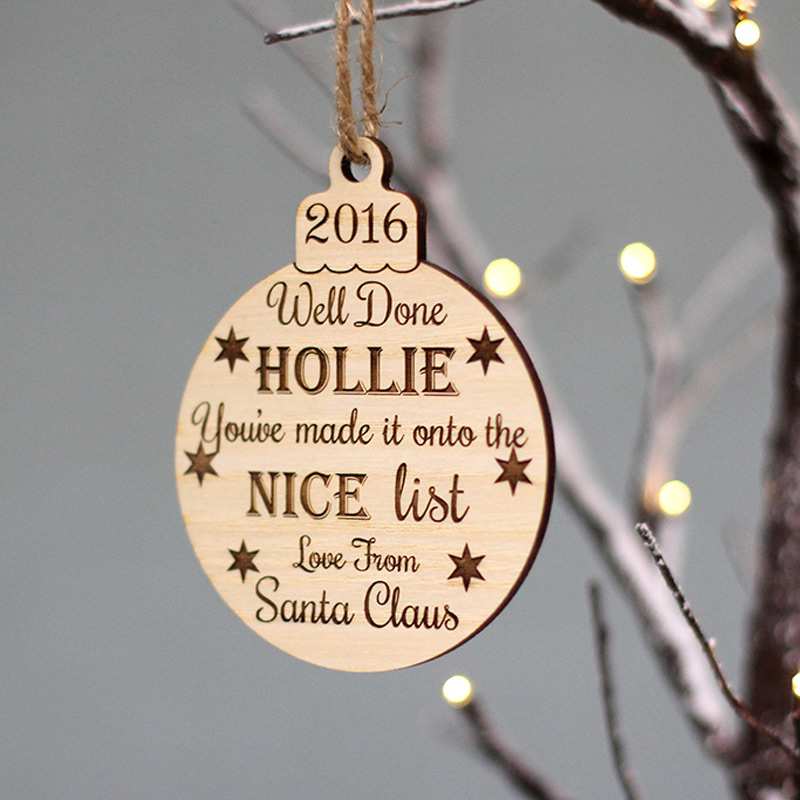 Hanging Baubles and Plaques