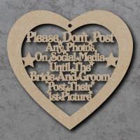 Please Don't Post on Social Media Heart
