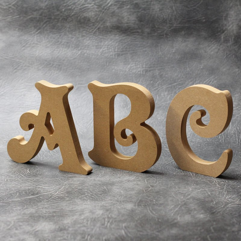 Price is per letter Wood MDF Word and Letters Cut Out 15cm tall