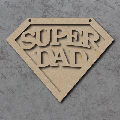 Super Dad Emblem Sign