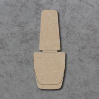 Nail Varnish Detailed Craft Shapes