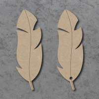 Feather Detailed Craft Shapes