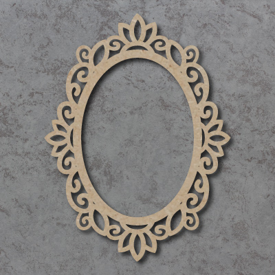 Swirly Frame Surrounds - Oval