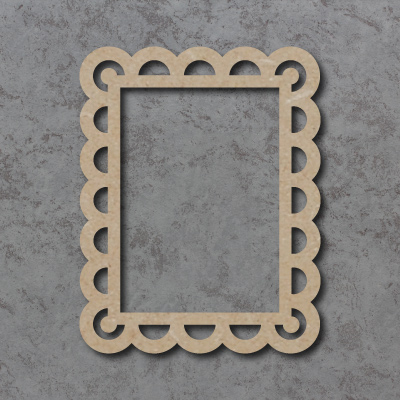 Scalloped Frame Surrounds - Rectangle