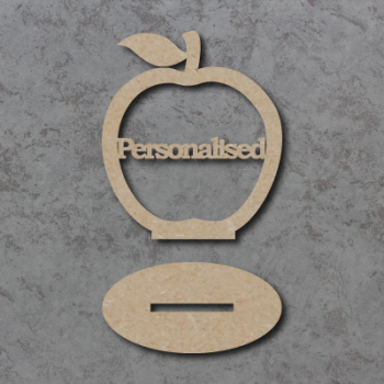 Freestanding Personalised Apple