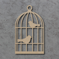 Bird Cage Blank Craft Shapes
