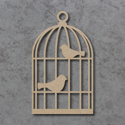 Bird Cage Craft Shapes