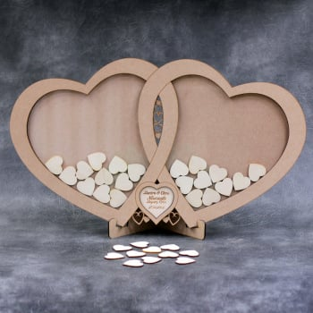 Wedding Drop Box - Linked Hearts