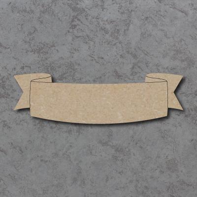 Scroll Banner A Craft Shape