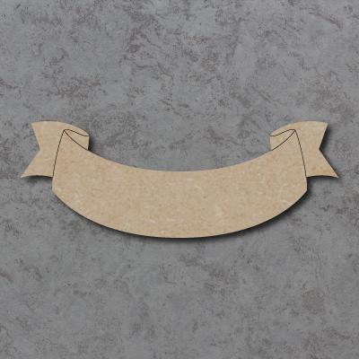 Scroll Banner C Craft Shape