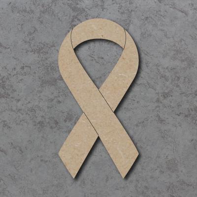 Cancer Ribbon Craft Shape