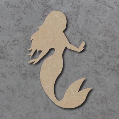 Mermaid A Craft Shapes