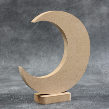 Moon Freestanding Craft Shapes 18mm Thick