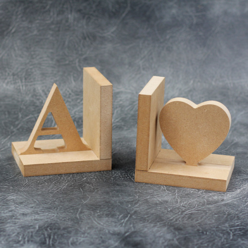 Personalised Bookends Set - 18mm Thick Craft Shapes