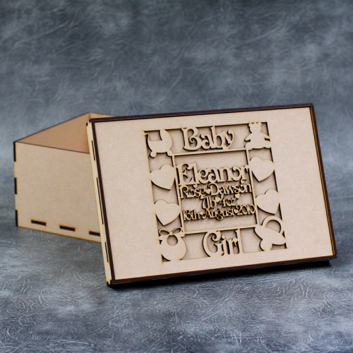 Personalised Baby Keepsake Box Kit