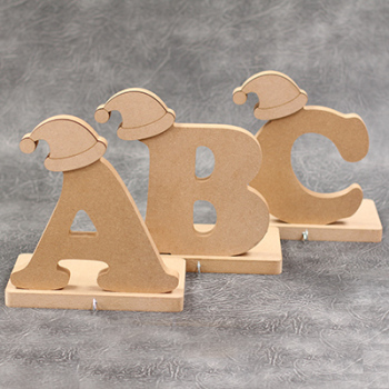 Stocking Hanger Wooden Letters 18mm Thick