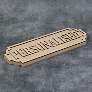 Street Sign - Personalised - 22mm Thick