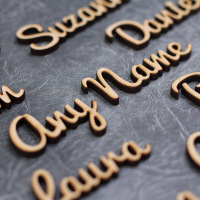 Personalised Wedding & Party Table Place Names