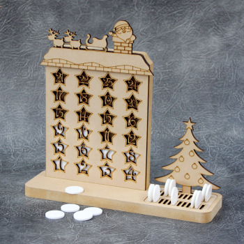 Christmas Countdown Advent Calendar - TYPE A