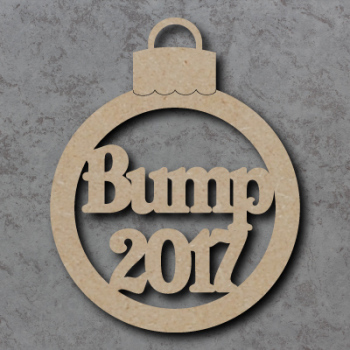 Bump with Year Bauble