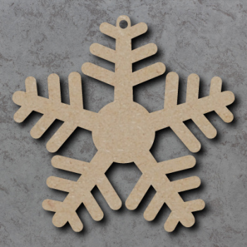 Snowflake 04 Craft Shapes