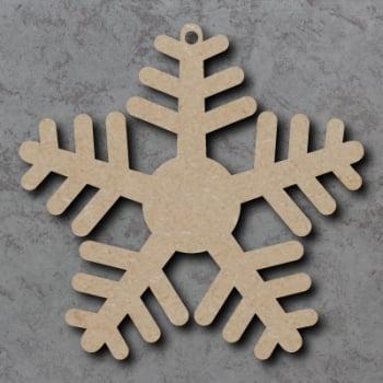 Snowflake 04 Blank Craft Shapes
