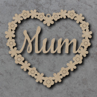 Heart Flower Sign - Personalised