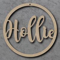 Circle Hoop Names - Personalised