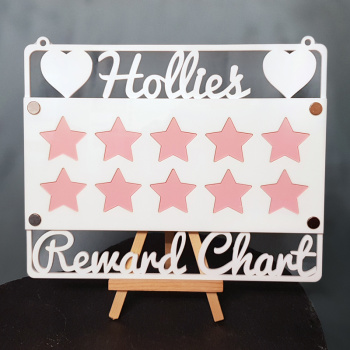 Reward Chart Acrylic Craft Sign