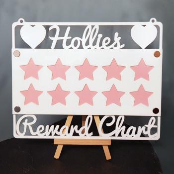 Reward Chart Acrylic Craft Sign