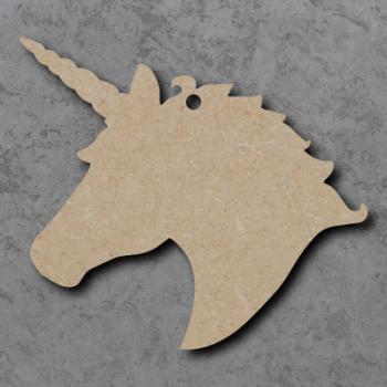 Unicorn  Head Craft Shapes