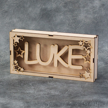 Personalised Name Box