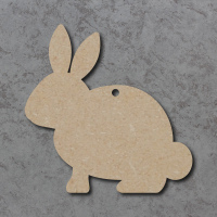Bunny 03 Blank Craft Shapes
